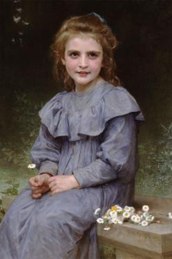 Daises by William Adolphe Bouguereau
