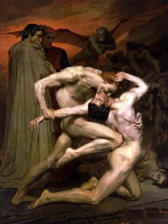 Dante and Virgil in Hell, 1850 by William Adolphe Bouguereau