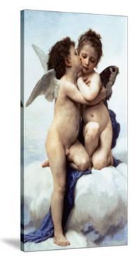 First Kiss by William Adolphe Bouguereau