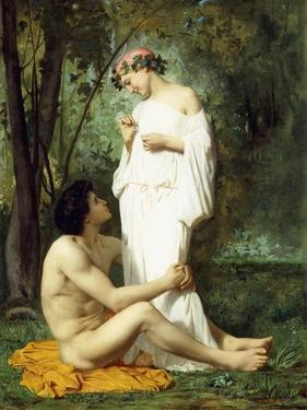 Idyll, 1851-52 by William Adolphe Bouguereau