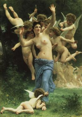Invading Cupid's Realm by William Adolphe Bouguereau