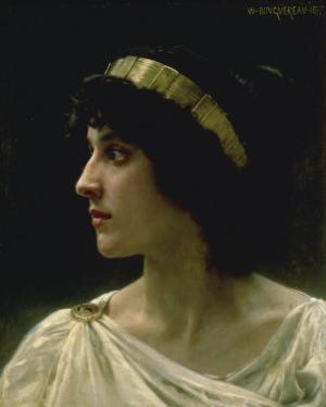 Irene, 1897 by William Adolphe Bouguereau
