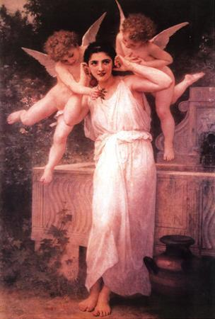 William Adolphe Bouguereau (L'Innocence) Art Poster Print