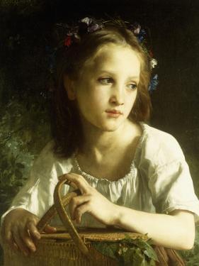 La Petite Ophelie, 1875 by William Adolphe Bouguereau