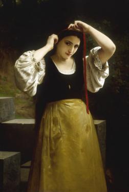 La Toilette Rustique, 1869 by William Adolphe Bouguereau