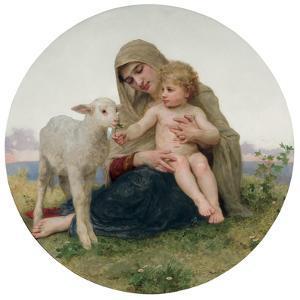 La Vierge a L'Agneau, 1903 by William Adolphe Bouguereau