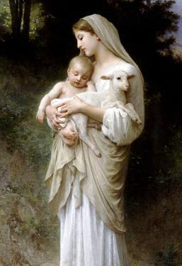 William-Adolphe Bouguereau Linnocence Art Print Poster