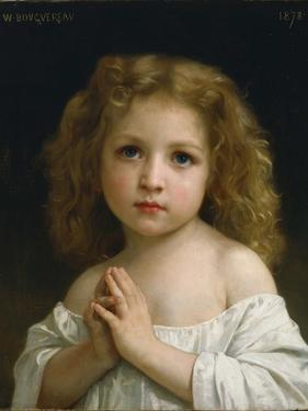 Little Girl, 1878 by William-Adolphe Bouguereau