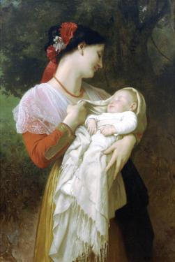 Maternal Admiration by William Adolphe Bouguereau