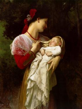 Mother and Child by William Adolphe Bouguereau