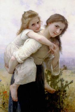 Not Too Much to Carry by William Adolphe Bouguereau