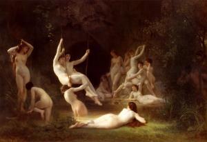 Nymphaeum, 1878 by William Adolphe Bouguereau