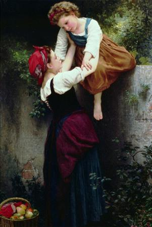 Petites Maraudeuses or Little Thieves by William Adolphe Bouguereau