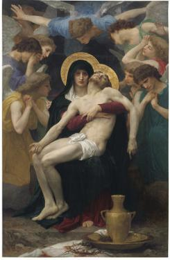 Pieta, 1876 by William Adolphe Bouguereau