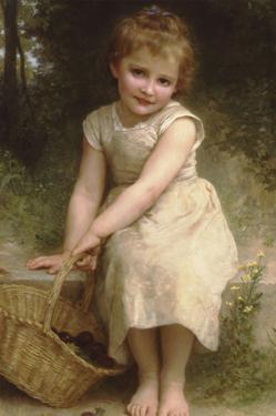 Plums by William Adolphe Bouguereau