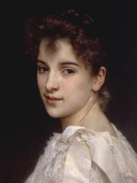 Portrait of Gabrielle Drienza, 1890 by William Adolphe Bouguereau