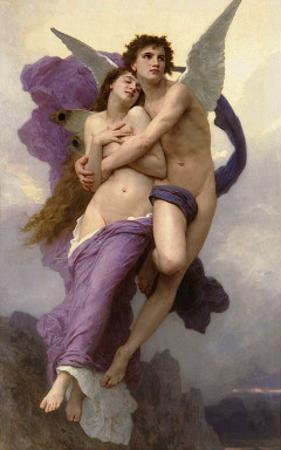 Ravishment of Psyche by William Adolphe Bouguereau