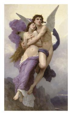 Ravishment of Psyche by William Adolphe Bouguereau