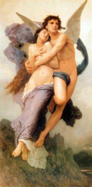 Ravissement de Psyche by William Adolphe Bouguereau