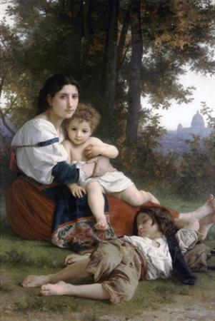 Rest by William Adolphe Bouguereau