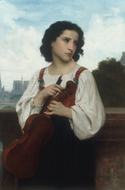 Seule au monde (Alone in the World), c.1867 by William Adolphe Bouguereau