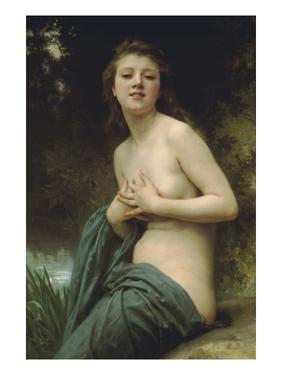 Spring Breeze by William Adolphe Bouguereau