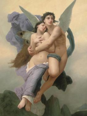 The Abduction of Psyche, 20th - 21st Century by William Adolphe Bouguereau
