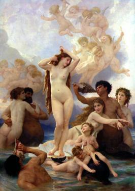 The Birth of Venus, 1879 by William Adolphe Bouguereau