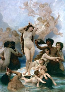 The Birth of Venus, 1879 by William-Adolphe Bouguereau