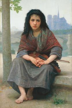 The Bohemian, 1890 by William Adolphe Bouguereau