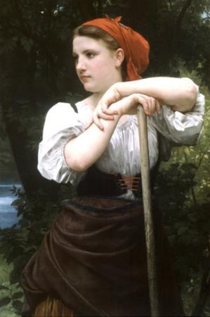 The Haymaker by William Adolphe Bouguereau