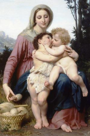 The Holy Family by William Adolphe Bouguereau