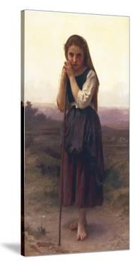The Little Shepherdess by William Adolphe Bouguereau