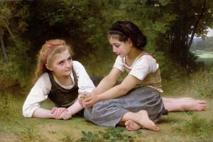 The Nut Gatherers, 1882 by William Adolphe Bouguereau