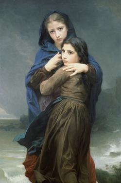 The Storm by William Adolphe Bouguereau