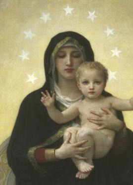 The Virgin With Angels - Detail by William Adolphe Bouguereau