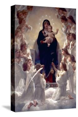 The Virgin with Angels by William Adolphe Bouguereau