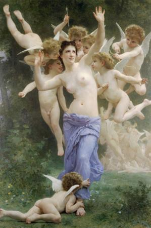 The Wasps Nest by William Adolphe Bouguereau