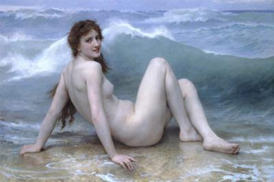 The Wave by William Adolphe Bouguereau