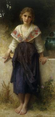 Un Moment de Repos, 1900 by William Adolphe Bouguereau