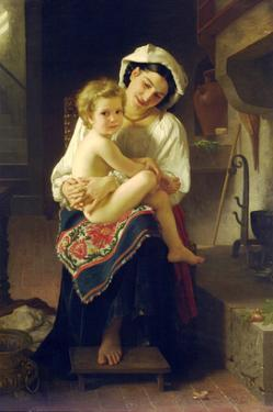 Up You Go by William Adolphe Bouguereau