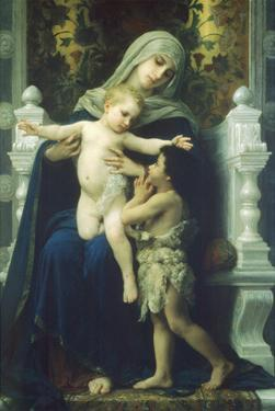 Virgin Mary and Jesus by William Adolphe Bouguereau