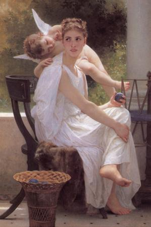 Work Interrupted by William Adolphe Bouguereau