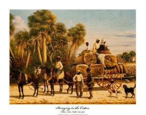 Bringing in the Cotton by William Aiken Walker