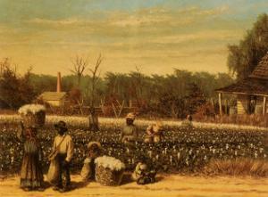 Picking Cotton by William Aiken Walker
