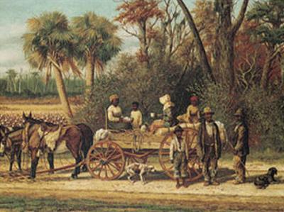 The Cotton Wagon by William Aiken Walker