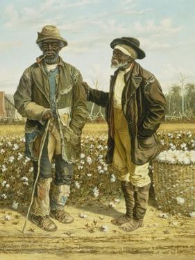 Two Elderly Cotton Pickers, 1888 by William Aiken Walker
