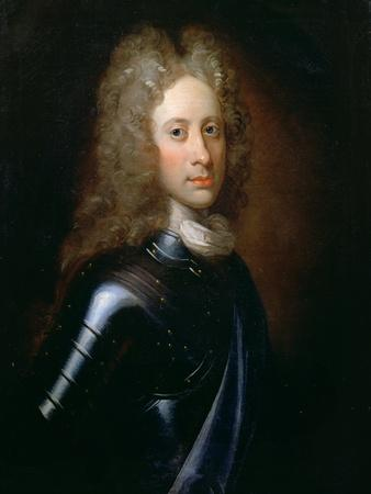 Portrait of John Campbell, 2nd Duke of Argyll (1678-1743) in Armour with a Garter Sash, C.1710