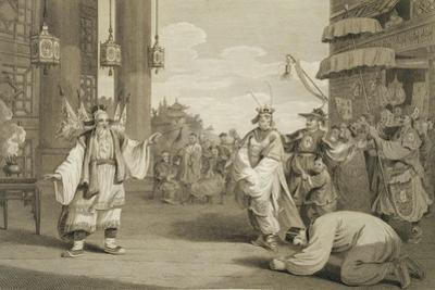 A Scene in an Historical Play Exhibited on the Chinese Stage, Engraved by James Heath by William Alexander
