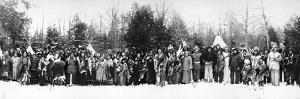 Iroquois Group, C. 1914 by William Alexander Drennan